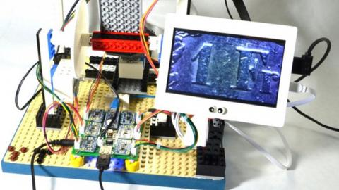 Microscopio con una Raspberry Pi