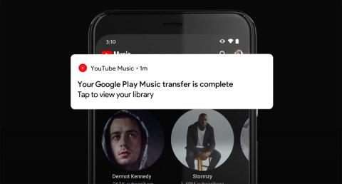 Pasar música de Google Play Music a YouTube Music