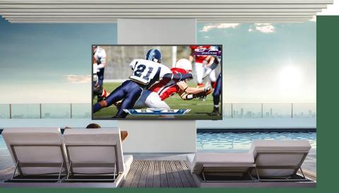 The Terrace TV Samsung