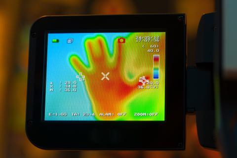 camara infrarroja