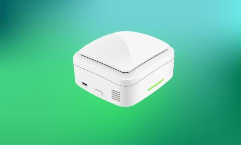 Camecho máquina de ozono mini