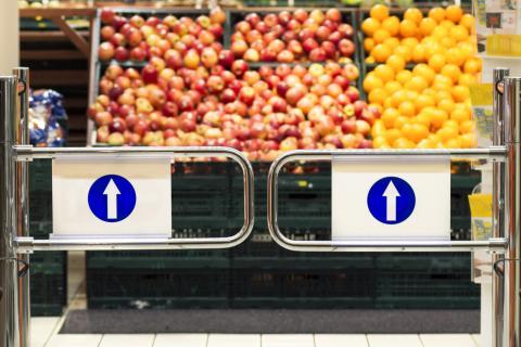 entrada supermercado