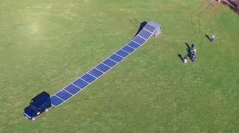 Central solar enrollable