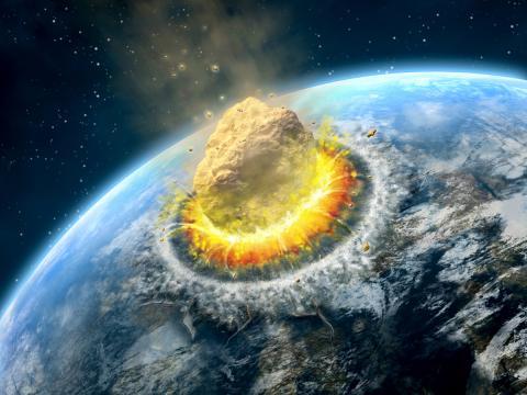 impacto asteroide tierra