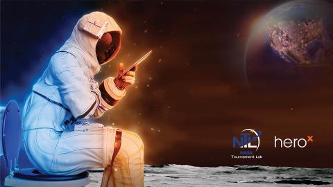 Inodoro en la luna