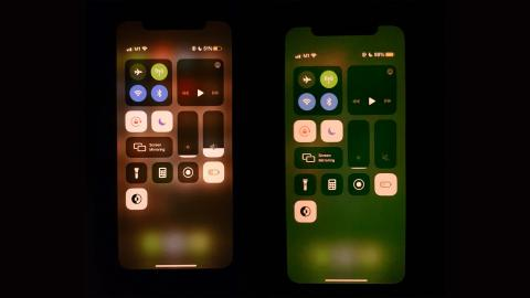 Pantalla verde iPhone 11