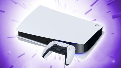 PlayStation 5 y Dualsense en horizontal