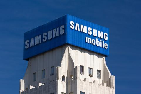 Samsung logo edificio