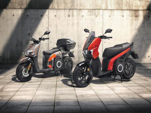 SEAT MÓ, moto eléctrica de SEAT