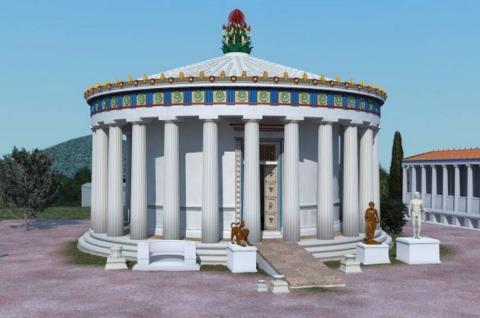 Templos griegos con rampas