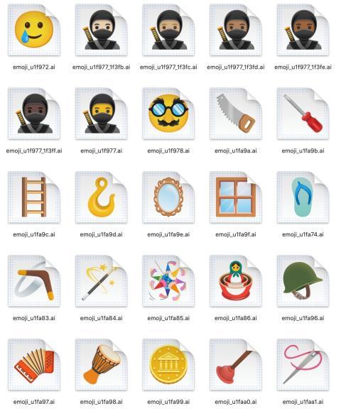 Emojis Android 11