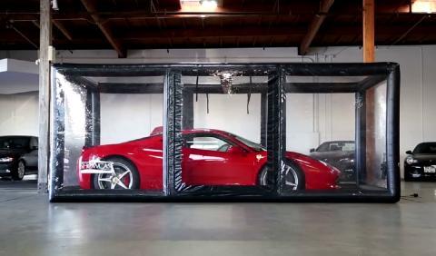 Garaje hinchable ShowCase