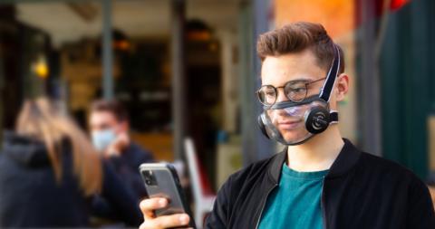 Mascarilla transparante Civility Mask