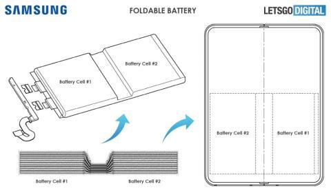 Patente Samsung batería
