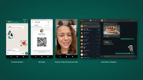 Stickers actualización WhatsApp