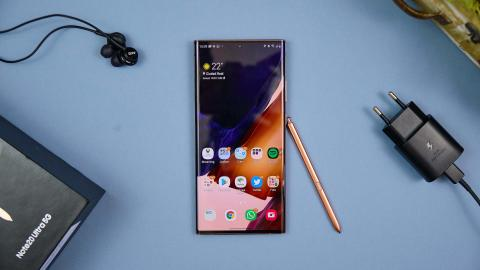 Análisis Samsung Galaxy Note 20
