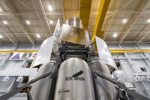 Módulo de aterrizaje lunar Blue Origin