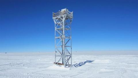 Instalación en la Antártida