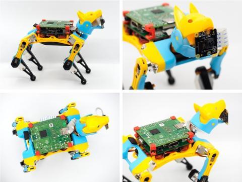 Perro robot Petoi Bittle