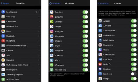 Privacidad iPhone