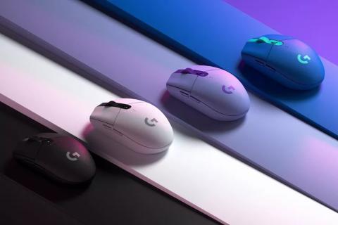 Ratón Logitech de color