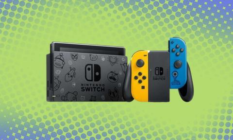 Nintendo Switch Edición Especial Fortnite