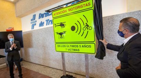 La nueva señal de peligro para los motoristas que ha presentado la DGT