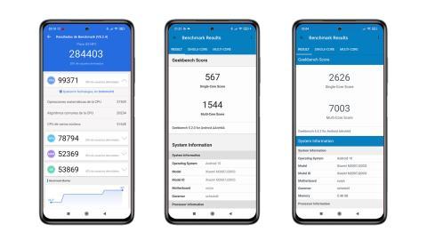 POCO X3 NFC, benchmarks