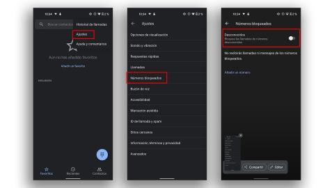 Android tutorial llamadas bloqueadas