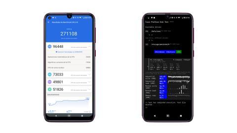 benchmarks Motorola Moto G9 Plus