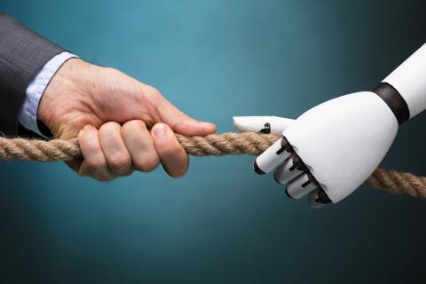 Ser humano vs robot