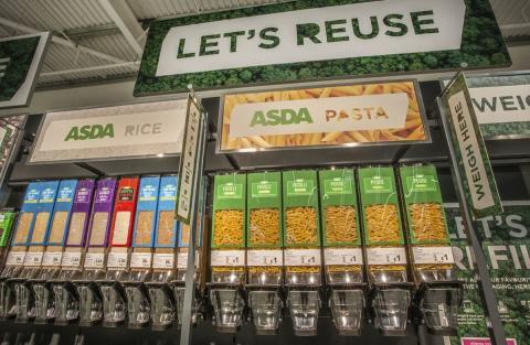 Supermercado sin envases