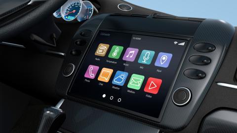 Radio inteligente para coche