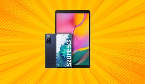 Samsung Galaxy S20FE 5G + Galaxy Tab