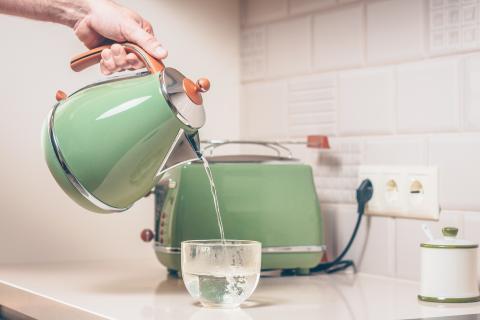 Tetera agua caliente