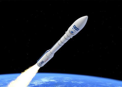 Cohete Vega de la ESA