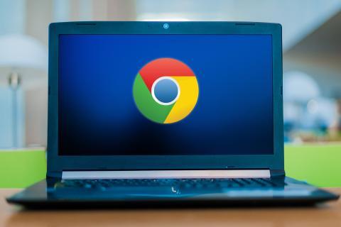 Google Chrome ordenador portátil