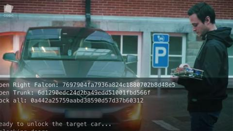 Hackear un Tesla Model X