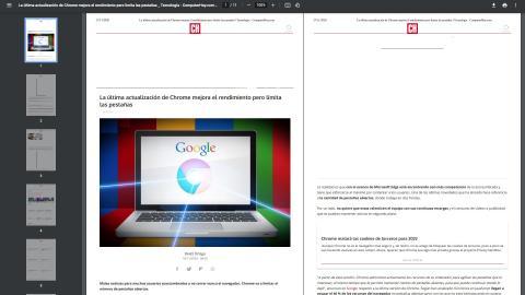 Lector de PDF de Chrome