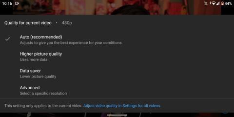 Versión beta de YouTube
