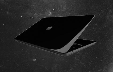 Macbook negro puro