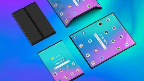 Patentes Xiaomi teléfonos plegables