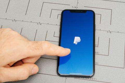 PayPal iPhone X