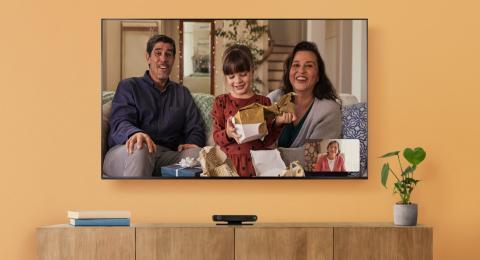 Videollamadas en el televisor