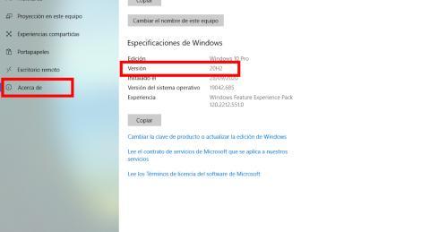 Windows versión tutorial
