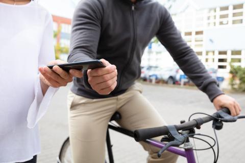 bicicleta movil