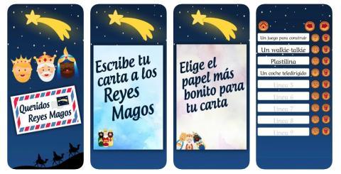 Carta a los Reyes Magos App
