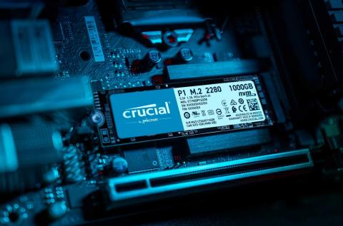 Crucial P1 SSD NVMe