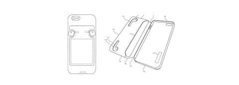 Esta extraña funda para iPhone sirve para transportar los AirPods y cargarlos