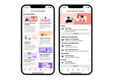 Facebook trata de limpiar su imagen añadiendo una herramienta para ver qué información guarda de nosotros